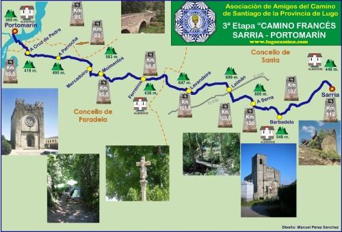 Etapa 03: Sarria - Portomarín