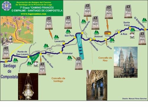 Etapa 07: O Empalme - Santiago de Compostela