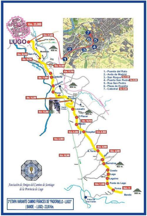 Etapa 03: Bande - Lugo
