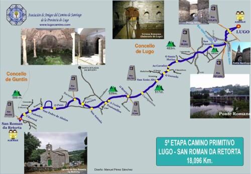Etapa 05: Lugo - San Román da Retorta