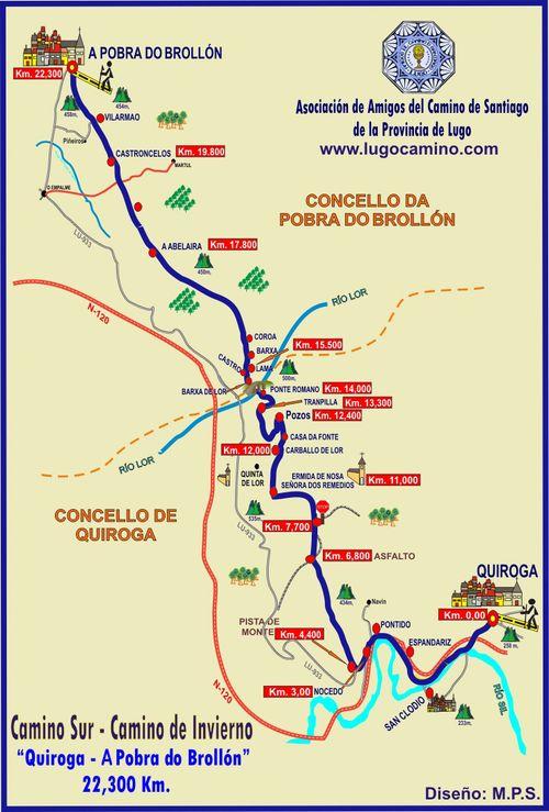 Etapa 02: Quiroga - Pobra de Brollón